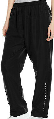 Kooga Open Hem Zip Leg Mens Rugby Trackpants - Black