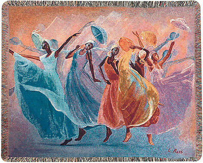 Tribute ~ African American Women Tapestry Afghan Throw ~ by Laverne Ross
