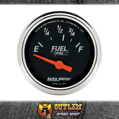 "Autometer Fuel Level Gauge 2.1/16"" Chrysler/most Ford Before 1989 - Au1423"
