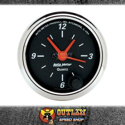 "Autometer Clock In Dash 2.1/16"" - Au1484"