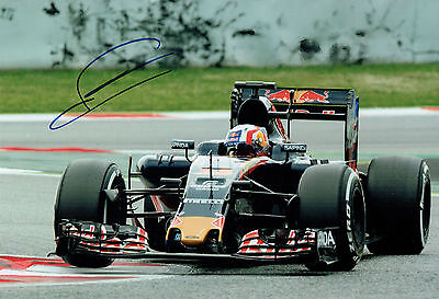 Pierre GASLY Signed Autograph Red Bull Formula 1 Driver Race Photo AFTAL COA