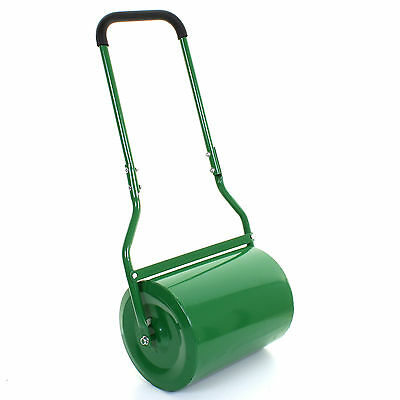 30L Heavy Duty Lawn Roller Water/Sand Filled Garden Green Perfect Grass Land NEW