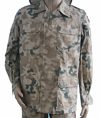 NEW ! DESERT JACKET polish army uniform wz.127PI/MON - AFGHANISTAN IRAQ WAR rare