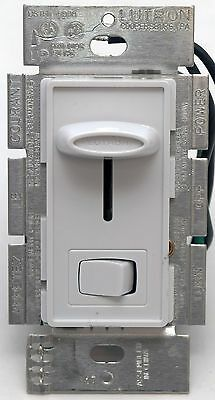 Lutron Skylark SLV-603P-WH White 3-Way Dimmer Light Switch Magnetic Low-Voltage