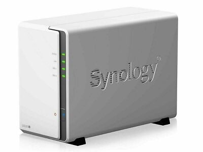 Synology DiskStation DS218j 2 Bays NAS + 6TB 2x Seagate 3TB ST3000VN007