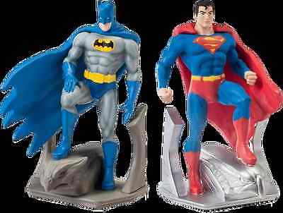DC Comics - Batman and Superman Resin Bookend Set
