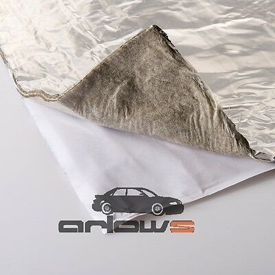 640 x 320 mm Heat shield Mat multilayer self adhesive Thermo foil reflective