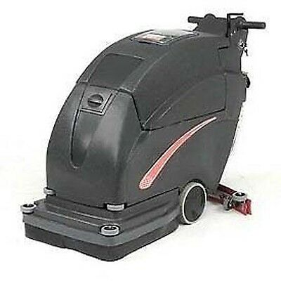 """13 Gal Auto Floor Scrubber - 200 RPM - Clean Width 20"""" - Two 105 Amp Batteries"""