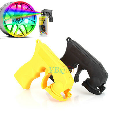 Hot Car Auto Aerosol Spray Painting Can Gun Handle Full Grip Trigger Plastic EB