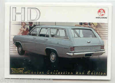 2004 Holden common card 127 HD Special wagon