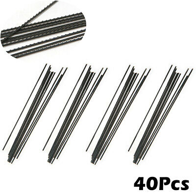 40Pcs 130mm Carbon Steel Reciprocating Scroll Saw Blades Set 1#,2#,10# and 12#