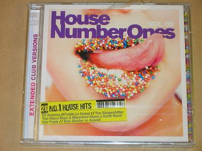 Boitier 2 Cd Rare / House Number Ones Vol 2 / Neuf Sous Cello