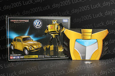Takara Tomy Transformers Masterpiece MP-21G Bumble G2 Figure w/ EXCLUSIVE COIN
