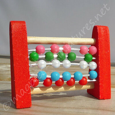 Dolls house 12th scale Abacus toy