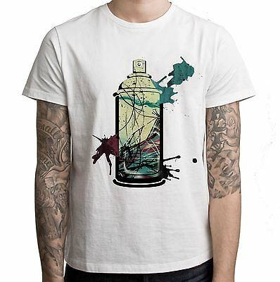 Graffiti Aerosol Spray Can Men's T-Shirt - Street Art Urban