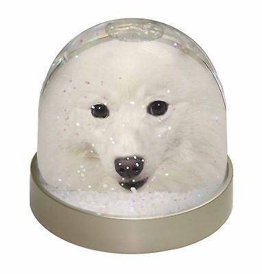 Japanese Spitz Dog Photo Snow Dome Waterball Stocking Filler Gift, AD-JS1GL