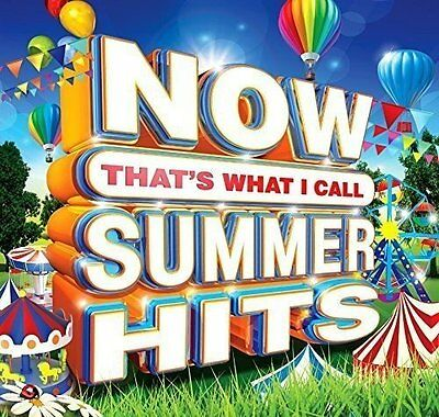 NOW THAT'S WHAT I CALL SUMMER HITS 3CD ALBUM SET (Released July 1st 2016)