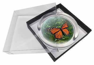 Red Butterfly in the Mist Glass Paperweight in Gift Box Christmas Prese, I-BU2PW