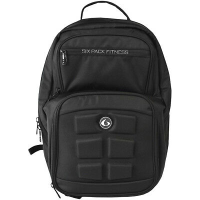 6 Pack Fitness Expedition 300 Meal Management Backpack - Stealth Black