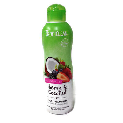 Tropiclean - Pet Shampoo - Deep Cleaning - Berry & Coconut