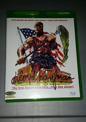 LLOYD KAUFMAN SIGNED Toxic Avenger Blu-ray DVD In Person Autograph Toxie NEW