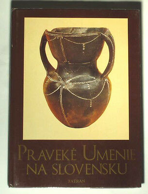 BOOK Ancient Art in Slovakia pottery jewelry glass beads early Slavic culture