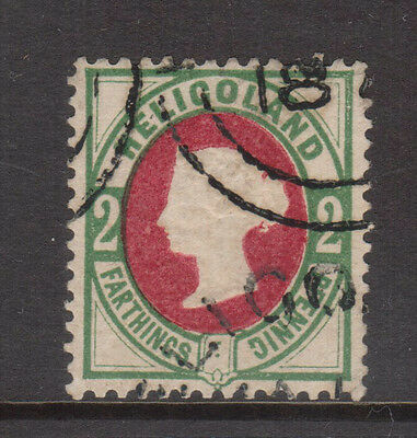 Heligoland #15 (Michel #12) VF Used **With Certificate**