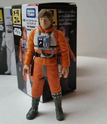 Luke Skywalker X Wing Pilot Dagobah Landing Metal Figure Star Wars MIB IN USA
