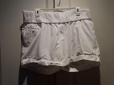 Women's LIZ LANGE MATERNITY White Shorts Plus Size XXL