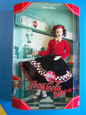 1998 2nd in Series  COCA COLA SODA FOUNTAIN BARBIE DOLL NRFB