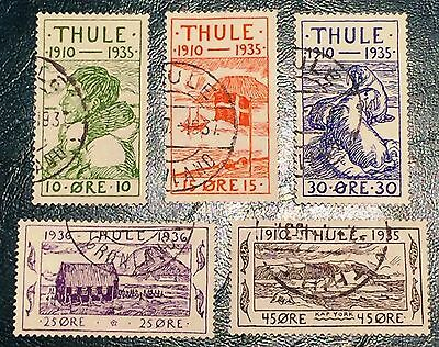 Greenland Thule 1935 Complete Set Used #3
