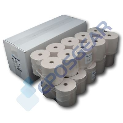 76mm x 76mm 76x76mm Single Ply Paper Till EPOS Kitchen Printer Receipt Rolls
