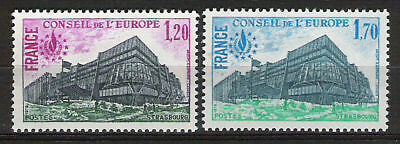 SERVICE CONSEIL EUROPE - 1978 YT 58 à 59 - TIMBRES NEUFS** LUXE