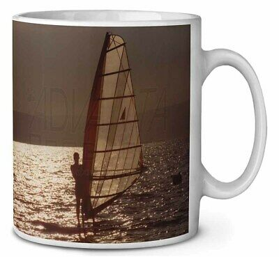 Wind Surfing Coffee/Tea Mug Christmas Stocking Filler Gift Idea, SPO-WS4MG