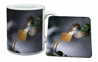 Humming Bird Mug+Coaster Christmas/Birthday Gift Idea, AB-91MC