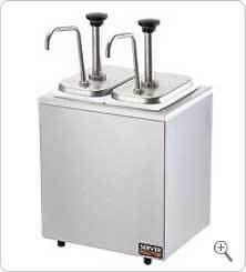 SYRUP RAIL Server SR-2 82910 w/ Stainless steel pumps