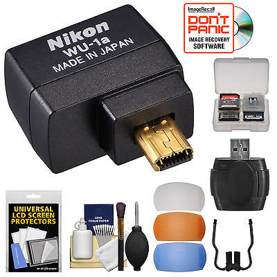 Nikon WU-1a Wireless Mobile Adapter for P530 D3200 D3300 D5200 D7100 DF Camera