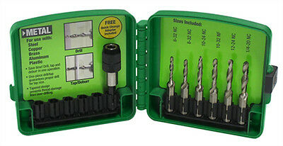 Greenlee Dtapkitm Drill/tap Kit, Metric (Pop)