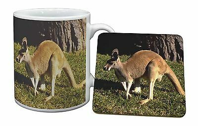 Kangaroo Mug+Coaster Christmas/Birthday Gift Idea, AK-2MC