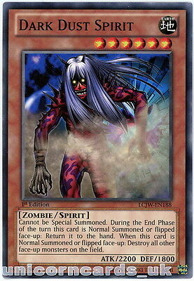 LCJW-EN188 Dark Dust Spirit 1st Edition Mint YuGiOh Card