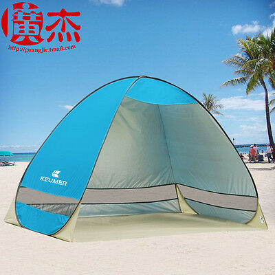 Outdoor Beach Canopy Sun Umbrella Portable Fishing Camping Shelter Tent