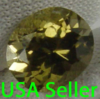 Beautiful Yellow Glow Natural Unheated Konerupine 1.90Cts Faceted Gem 12012240S