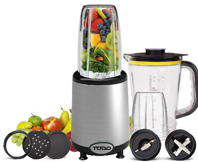 Stainless Steel 700W Nutrition Blender Magic Smoothie Maker Drink Mixer Silver
