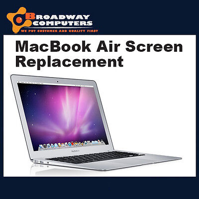 "Macbook Air 11"" A1370 A1465 Screen Replacement, Installation"