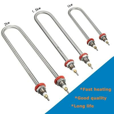 U Style Stainless Steel Water Heater Electric Tube Heating Element AC220V