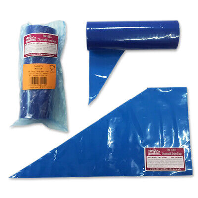 Icing Bags - 18 INCH - 100 Disposable Piping Bags for Cake Decorating & Baking