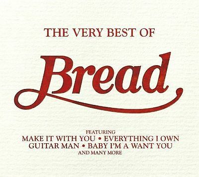 BREAD THE VERY BEST OF CD ALBUM (GREATEST HITS) incl: MAKE IT WITH YOU