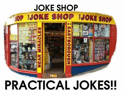 Classic Joke Shop Practical Jokes~Retro~Pocket Money Toys~Pranks~Classic NEW