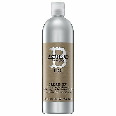 TIGI Bed Head For Men Wash and Care Clean Up Peppermint Conditioner 750ml