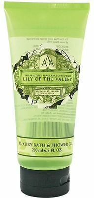 AAA Floral Lily Of The Valley Luxury Bath And Shower Gel 200ml